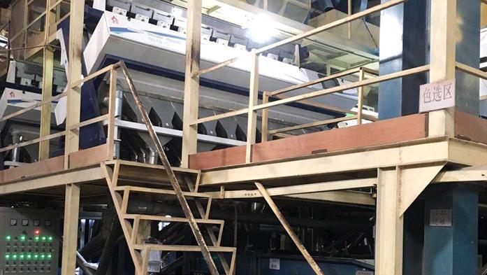 金威玛生产设备色选区