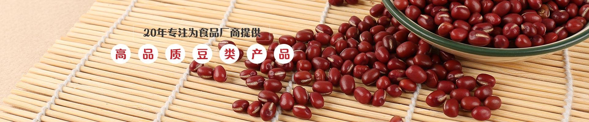 金威玛20年专注为食品厂商提供 高品质豆类产品